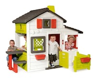 White and red plastic toy house Wokingham, RG40 1GE