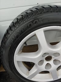 Hankook winter tires 215/55R17 Nissan Altima