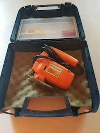 Black and Decker Jig saw And case Welland, L3C 7J8