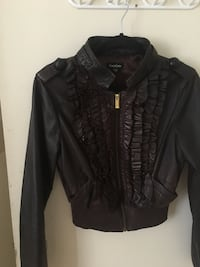 Bebe real leather jacket  Toronto, M4W 2M9