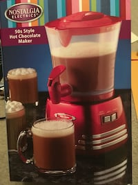 Hot chocolate maker Frankfort, 60423
