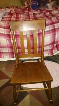 Small antique rocking chair Mesquite