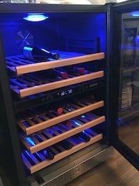 ONEO wine fridge, brand new is $4,000 Tsawwassen, V4M 0A7