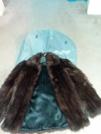 brown fur coat mink