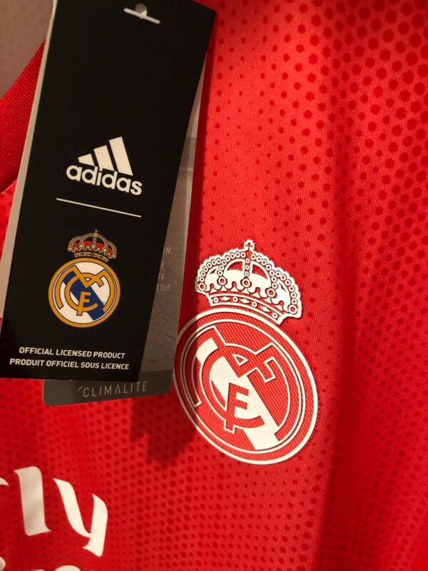 Used Real Madrid third kit soccer jersey 2018-19 for sale in Frisco ... dd331a5d2