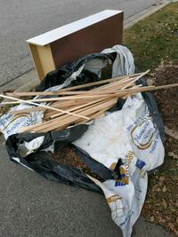 Free kindling and cabinet