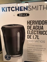 Kitchen Smith by Bella electric water heater box Gainesville, 32601