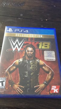 WWE 2K17 PS4 game case Coquitlam, V3B 0C5