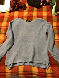 Light blue knit sweater  Fishkill, 12524