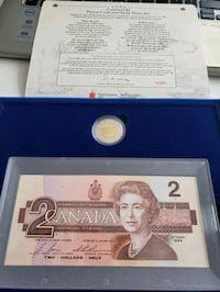 1996 Royal Canada Mint Proof Coin and Note Set