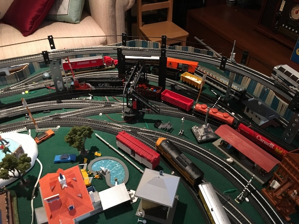Miniature Train set collection
