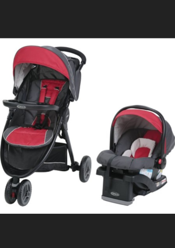 Used Babys Black And Red Travel System For Sale In Atlanta Letgo