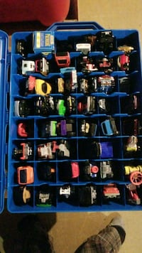 55 different hot wheels