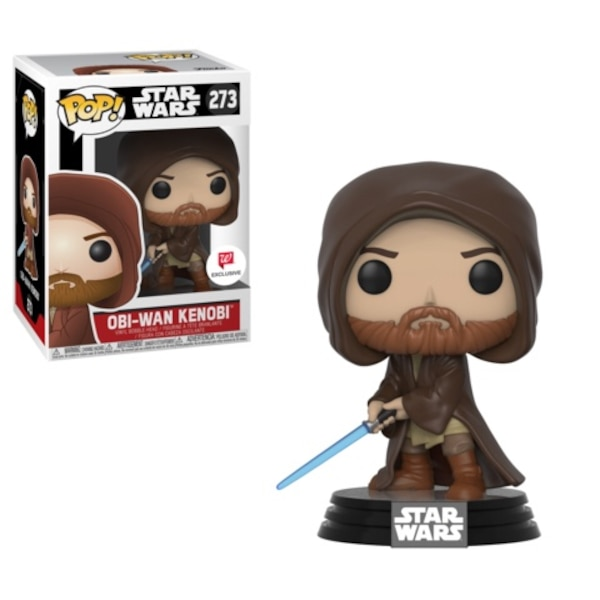 black and gray Pop ! vinyl figure with box