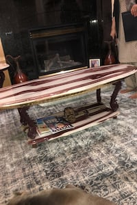 Three piece marble table set Vancouver, V5X 1B2