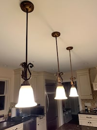 3 pendant lights, 20 handles and 21 knobs premium quality  Wayne, 07470