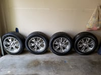 Set of 4 Tires and Rims Montgomery Village