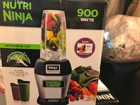 black and gray Ninja blender Bristow, 20136