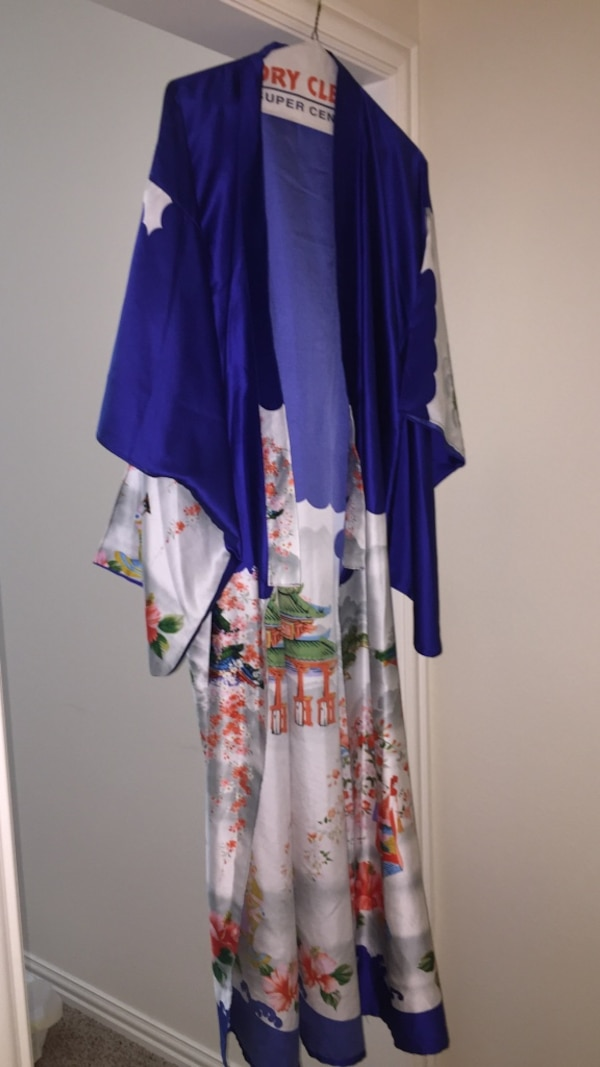 972951b64 Used Blue and white Kimono from Japan for sale in Prosper - letgo