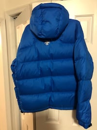 blue zip-up bubble jacket Chalfont, 18914