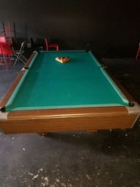 green and brown pool table Gainesville, 30506