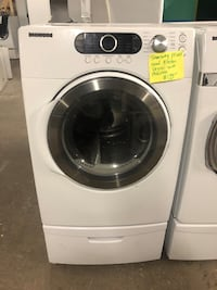 Samsung front load dryer with pedestal  Baltimore, 21223