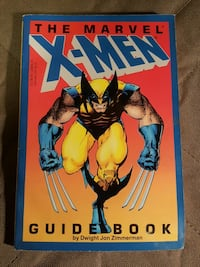 Vintage X-men Guide Book Westminster, 21157