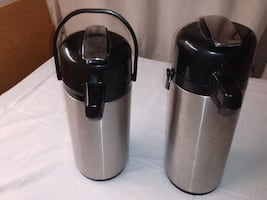 Coffee servers. 2.2 lt and 1.9 llt