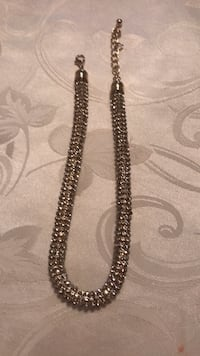 black and silver beaded necklace Vaughan, L4J 3J8