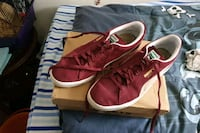Mens Puma Suede Red/burgundy trainers UK SIZE 12 West Midlands, WV6 8UY