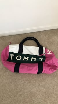 pink and black Adidas duffel bag Clarksburg, 20871