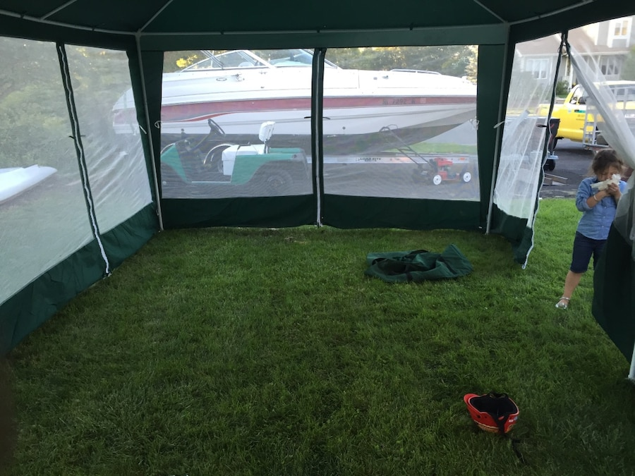 12x20 screen tent never used. & Used 12x20 screen tent never used. for sale in Haverhill - letgo
