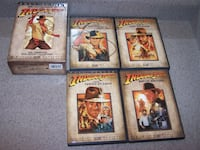 ADVENTURES INDIANA JONES 4 DVD BOXED SET - full screen Vaughan