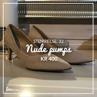 NYE Beige pumps / 32 6014 km