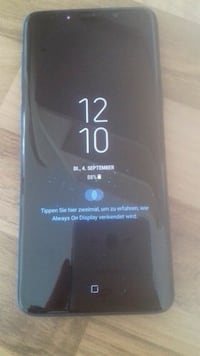 Samsung galaxy s9 midnight black neu