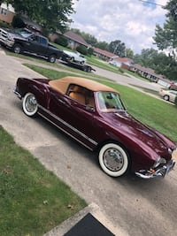SUPER CLEAN 1968 KARMANN ghia CONVERTIBLE Columbus