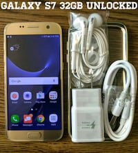 gold Samsung Galaxy S7 edge Arlington