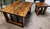 Rustic coffee&end table set Langley, V3A 9L4
