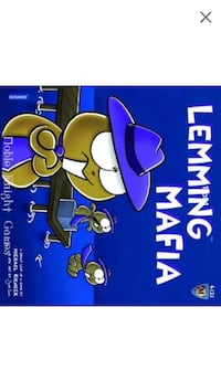 Lemming mafia board game by mayfair games