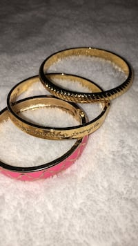 LILLY PULITZER set of gold bracelets Austin, 78738