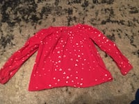 Baby Gap Red Hearts Top Size 4T Tempe, 85284