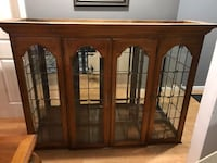 Top part of a China closet with lights. Great condition  Oakhurst