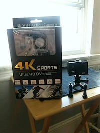 black 4K sports ultra HD DV action camera with box New Britain, 06052