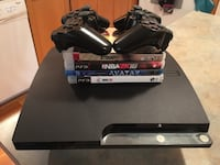 PS3 w/ 2 remotes and a few games! Toronto, M9B 6L9