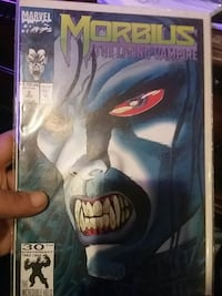 Marvel Morbius comic book Knoxville, 37923