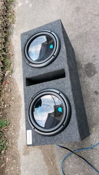 "Double 10"" subwoofer in ported box 1500 watts  Mount Vernon"