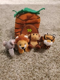 "Jungle animals and ""home"""