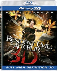 Resident Evil: Afterlife 3D Blu-ray Vancouver, 98682