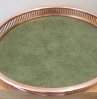 Copper Guild & Leather Tray  Mississauga, L5N 2X2