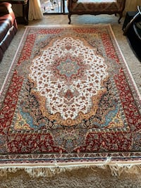 NEW Traditional Persian Multi-colored Floral Rug for Living Room (10 x 6.5 ft) Newark, 94560